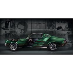 Photographie d'art Ford Mustang Bullitt Edition