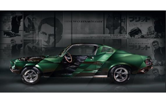 Art Photo Ford Mustang Bullitt Edition