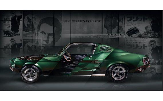 Art Photo Ford Mustang Bullitt Edition