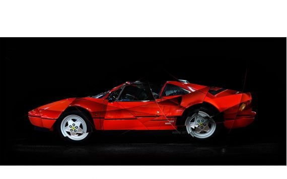 Art Photo Ferrari 288 GTS
