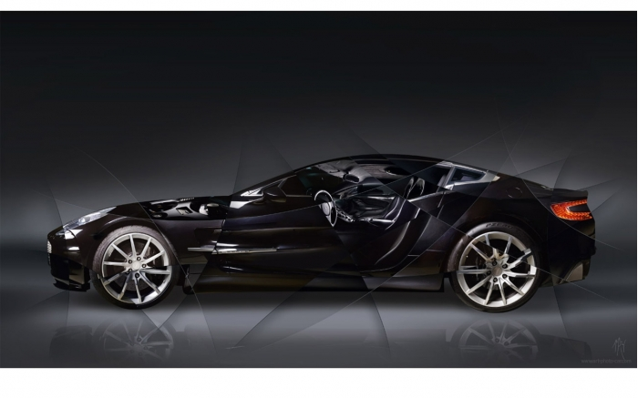 Aston Martin One 77 Photo | Signed & Limited Photography