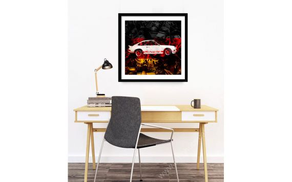 Porsche Carrera RS 911 photography art