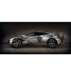 Photo d'art Aston Martin V12 Zagato II