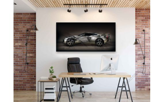 Art photography Aston Martin V12 Zagato