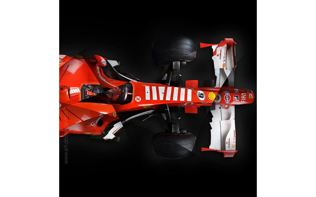 ferrari f248 formule 1 photo d 39 art limit e sign e par l 39 artiste. Black Bedroom Furniture Sets. Home Design Ideas