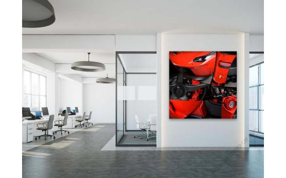 Tableau LaFerrari IV Photographie d'art