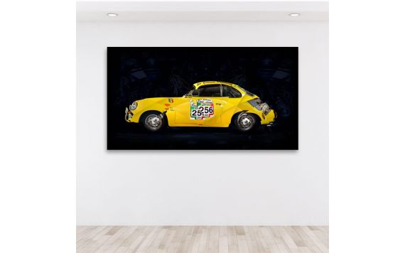 Photo d'art Porsche 356 BT6 Coupe