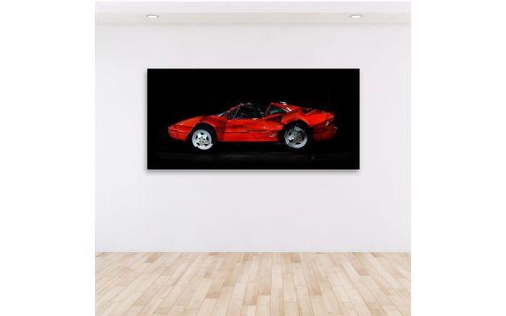 Art Photo Ferrari 328 GTS