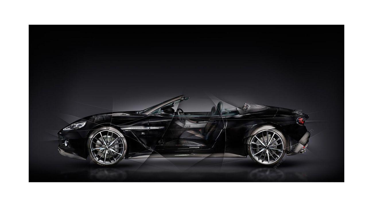 Aston Martin V12 Vanquish Zagato Volante Signed Art Photography