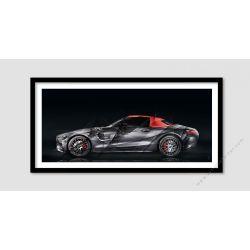 Fine Art Print Mercedes AMG GT 50 Edition II