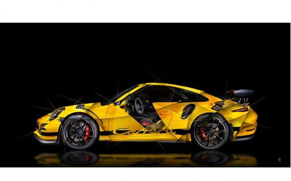 Porsche 911 991 GT3 Photographie d'Art