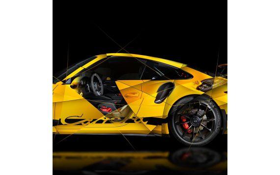 Porsche 911 991 GT3 Fine Art Print