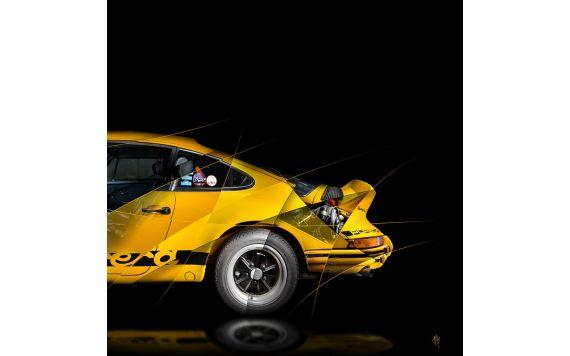 PORSCHE 911 2.7 RS – Photographie Pop Art Collection II