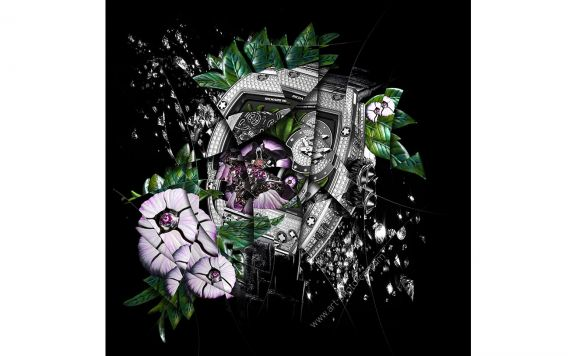 Watches & Haute horlogerie Richard Mille RM19-01 Tourbillon Flower, Signed & Limited fine art print