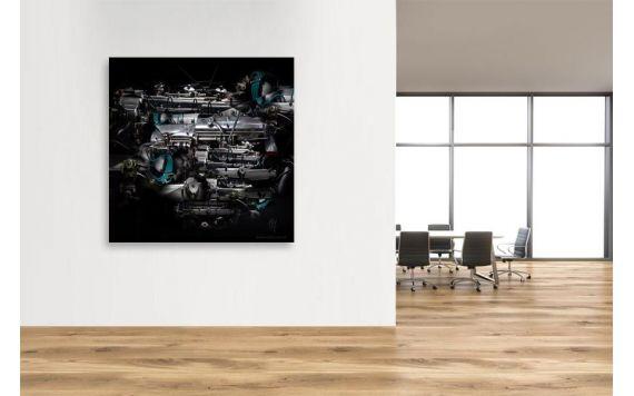 Aston Martin DB5 photographie d'art mécanique