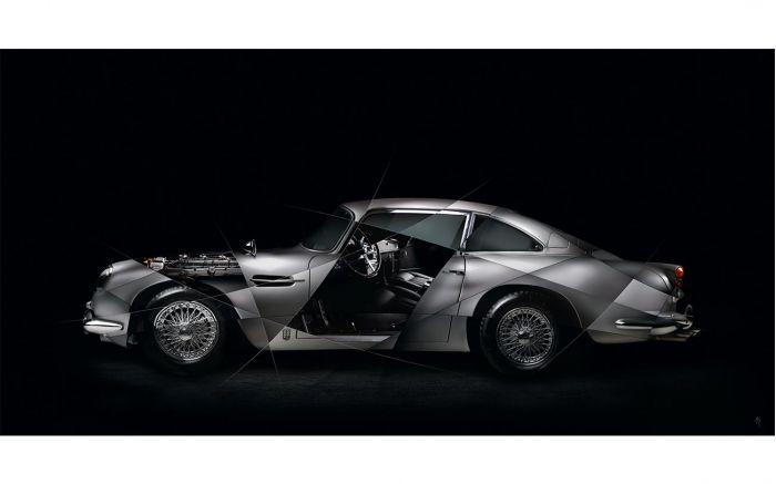 Aston Martin DB5 Photo | Photographie signée & limitée
