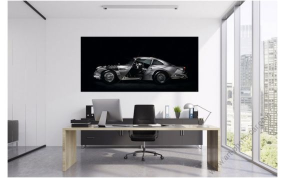 Aston Martin DB5 Photo | Signed & Limited Photography