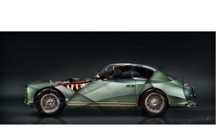 Photographie d'art Aston Martin DB2