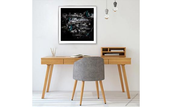 Aston Martin DB5 Photo - Signed & Limited fine art print