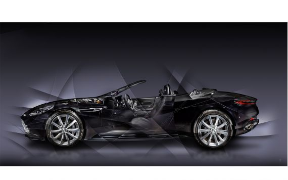 Aston Martin DB11 Volante Photographie d'Art