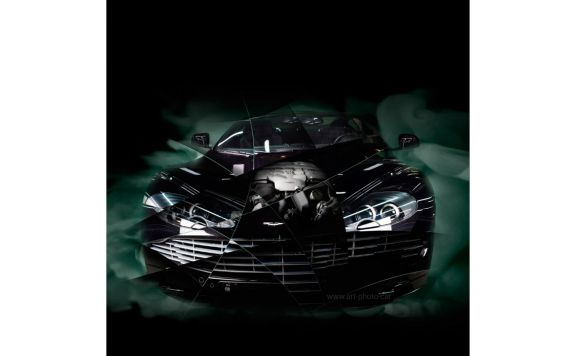 Aston Martin DBS Photographie d'art automobile