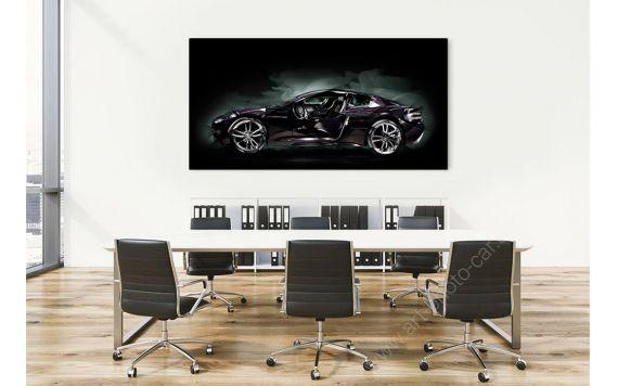 Aston Martin DBS Photo - Photographie d'Art signée & limitée
