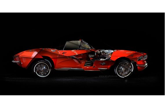 Corvette C1 Photo - Photographie d'art signée & limitée