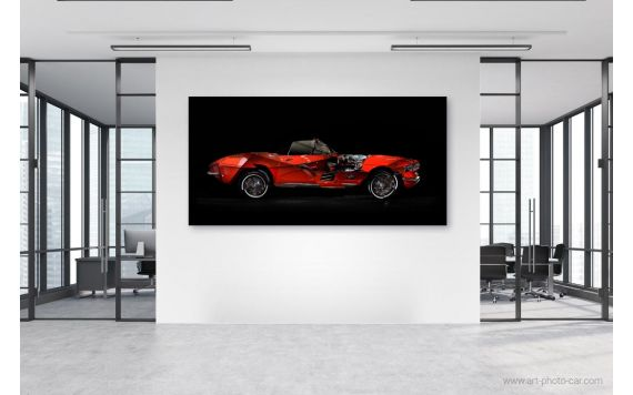 Corvette C1 Photo - Signed & Limited Photography