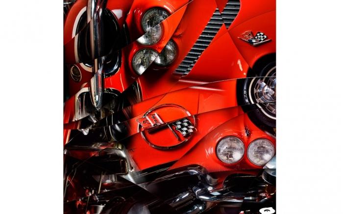 Corvette C1 art Photo car