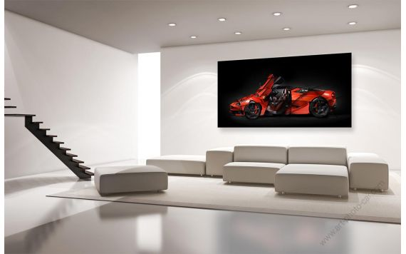 FERRARI ART Laferrari Signed & Limited Art photography