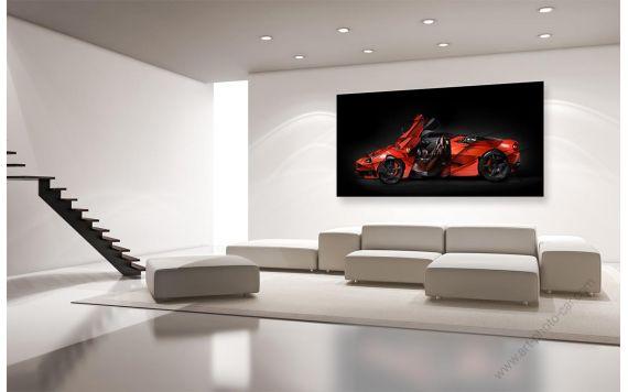 Ferrari art Laferrari Photo - Photographie signée & limitée