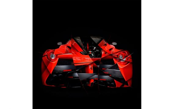 LaFerrari Photographie d'art automobile