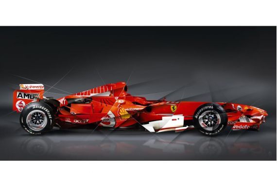 Formula 1 Ferrari Art photography