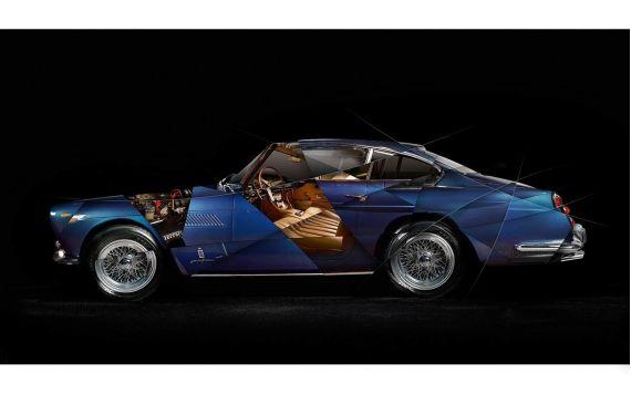 Ferrari 250 GTE Photo - Photographie d'Art signée & limitée