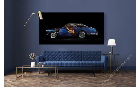 Ferrari 250 GTE Photo - Signed & Limited Art photography