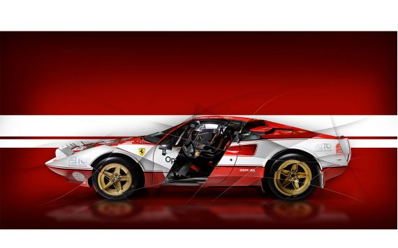 Ferrari 308 Gtb Rally Ferrari Art Photo
