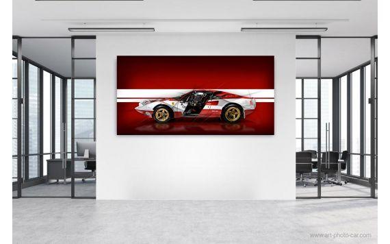 Ferrari 308 Gtb Rallye Photographie d'art edition limitée