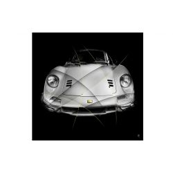Art photography Ferrari Dino 246 GT