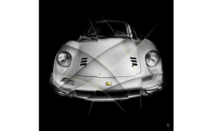 Art Photo Ferrari Dino 246 GT