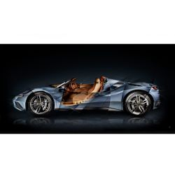 Photographie d'art Ferrari 488 Tailor Made