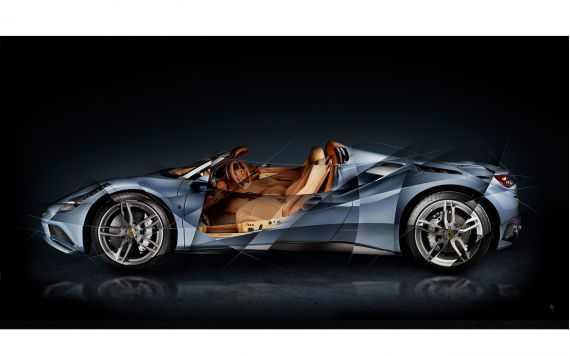 Ferrari 488 Tailor Made Fine Art Photography