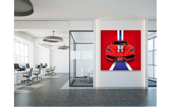 Photographie d'art et tableau Ferrari 458 Speciale
