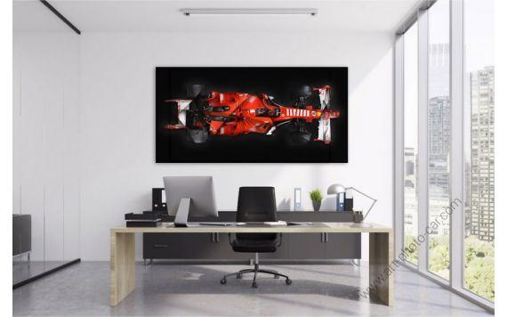 Formule 1 ferrari Photographie d'art signée & limitée