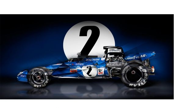 Formula 1 jackie stewart limited Art photography