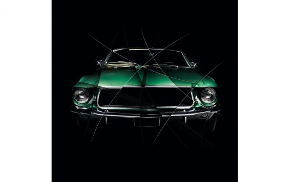 Photographie d'art tableau FORD MUSTANG I