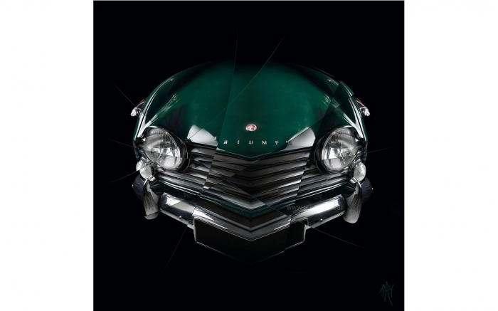 Triumph TR4 - Photographie d'art signée & limitée