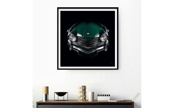 Triumph TR4 - Tirage d'art signé & limité