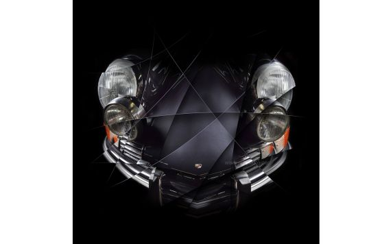 Porsche 911 Targa - Photography Signed & Limited