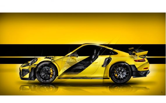 Porsche 911 GT2 RS Type 991 signed limited Art Photography