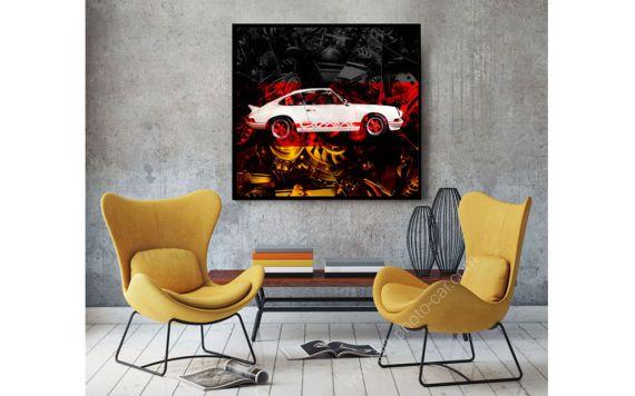 Porsche Carrera RS 911 photographie d'art